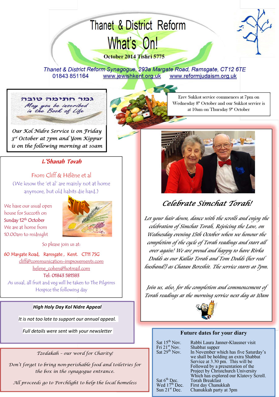 What's On October-2014